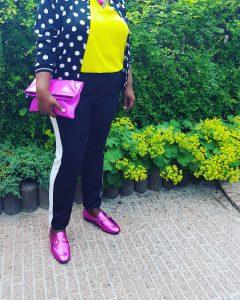 Vrouwen met grote schoenmaat