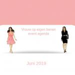 Event agenda juni 2019