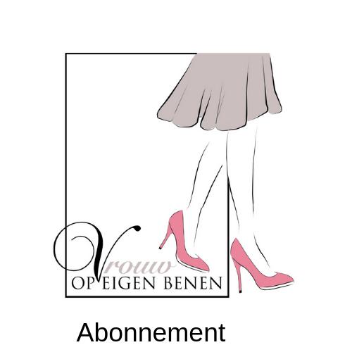 Abonnement vrouw op eigen benen